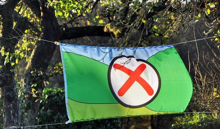 Voisloehe-Fahne